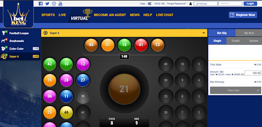 how to play virtual on betking